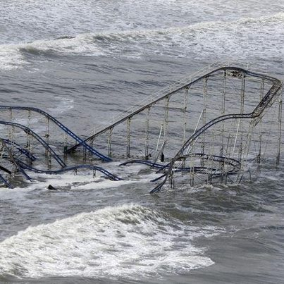 Roller Coaster in the Ocean, Hurricane Sandy