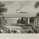 1833 - 1st Railroad Bridge Over Wissahickon Creek