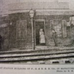 Manayunk's first train station from 1834