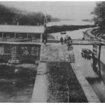 1916 - Canal locks at Flat Rock Dam