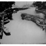 1940 - Recreational boating along the canal