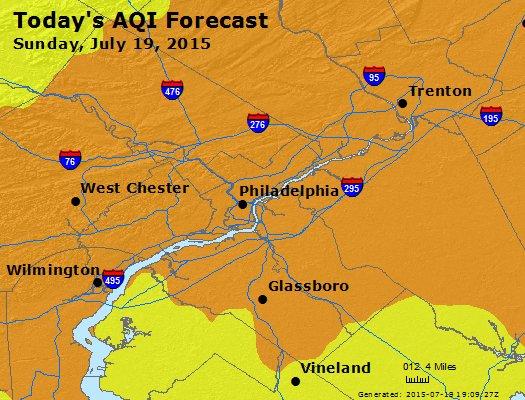 Philadelphia Ozone Alert