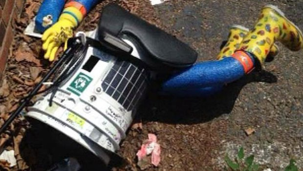HitchBot In Philly