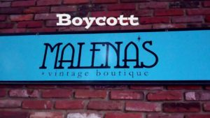 Boycott-Malena's, West Chester, Gay Church