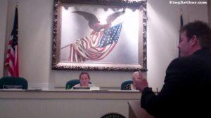 Police Chief Scott Bohn and Mayor Carolyn Comitta