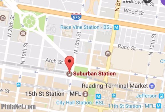 Suburban Station, Philadelphia